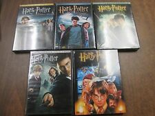 Harry Potter DVD's Single Years One-Five New 082615ame3