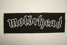 "Motorhead Cloth Patch Sew On 6.5"" X 2"" Metal Rock Iron Maiden Metallica (CP204)"