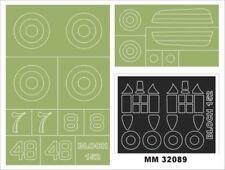 Montex Maxi Mask 1:32 Bloch 152 for Azur A060 Spraying Stencil #MM32089