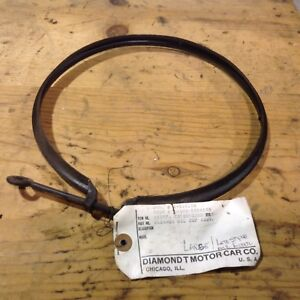 HALF TRACK NOS LARGE OR LATE STYLE AIR FILTER OIL CAN CLAMP WITH BOLT $15.00