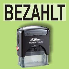 BEZAHLT Shiny Printer Schwarz S-842 Büro Stempel Kissen schwarz