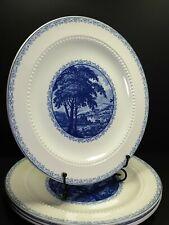 More details for royal cauldon bristol ironstone scenario 4x dinner plates 10.5