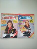 Quick & Easy Crochet 1993 January/February And March/April Issues