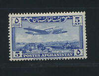 Afghanistan C38 Mint NH Complete Airmail Worth $13.50