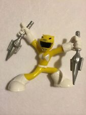 "MIGHTY MORPHIN Power Rangers Mini Battle : YELLOW Ranger  : 2"" SIZE : S #2"