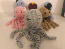 Pulpo de ganchillo para bebés prematuros Bebé gift Crochet octpopus original