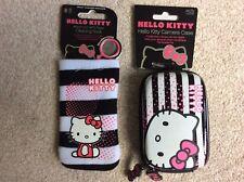 Hello Kitty Funda de Cámara y calcetín de Limpieza Móvil/MP3