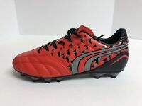 Dream Pairs Big Kids/Youth Size 5M Red/Black Soccor Football Cleats, 160860-K