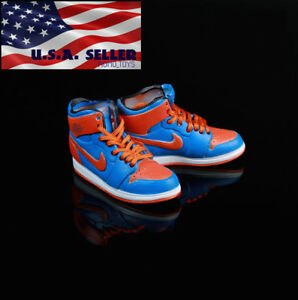 "1/6 Sneakers Sport Basketball Shoes Nike Air For 12"" Hot Toys PHICEN Male Figure"