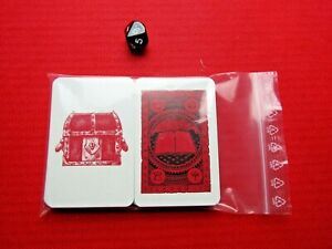 Legend of Zagor Board Game Dice & Full Set of Base Cards Replacement Cards