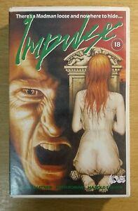 IMPULSE - WILLIAM SHATNER - BIG BOX EX-RENTAL VHS VIDEO