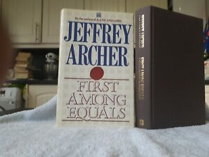 JEFFERY ARCHER FIRST AMONG EQUALS 1ST/1ST U.K HB VGC