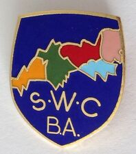 South West Cornwall Bowling Association Club Badge Pin Rare Vintage UK (M19)
