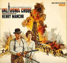 "HENRY MANCINI ""OKLAHOMA CRUDE"" LP B.O. FILM 1973"