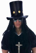 Slash Guns Roses Metal Rocker Cappello & Capelli Costume 80s 1980 P7341