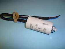 2uF Motor Run Capacitor 450V, Twin Cable