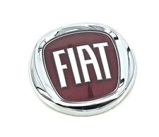 Genuine New FIAT RED TAILGATE BADGE Boot Emblem Logo For Punto Evo 2009-2011
