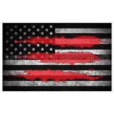 "5"" American Flag Decal Sticker Illuminati"