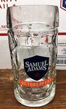 2 Pk Sam Adams Octoberfest Seasonal Brew Mug! Samuel Adams