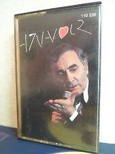 AZNAVOUR - K7 audio - RCA 110 226 / Audio tape - 3 PHOTOS