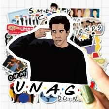 Friends TV Show Joey Unagi Car Sticker Bumper Large Decal 5.25 x 6.5 Inches