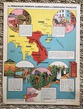 Publicité ancienne - Produits Alimentaires Indochine Française - Poivrossage