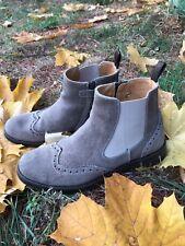 Zecchino d'Oro Chelsea Mädchen Leder Stiefel Boots beige Gr. 36