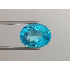 "Natural Unheated Apatite ""neon blue"" paraiba like color 8.23 carats"