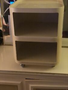 Rolling Cart shelf Table Space-Age Storage umbo? Kartell? Mid-Century-Modern