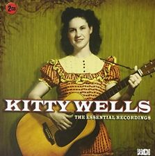 KITTY WELLS THE ESSENTIAL RECORDINGS REMASTERED 2 CD NEW