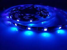 5M 12V vrai UV ULTRAVIOLET Bande lumière BANDE clair SMD5050 LEDs Lumière Noire