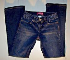 Old Navy Boot-Cut Size 10 Jeans Kids Girls Blue Denim L25-1/2 W23
