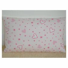 "20""x12"" Oblong Bolster Cushion Cover John Lewis Little Home Nursery Pink Hearts"