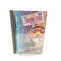 Ground Zero Texas for the SEGA CD - Comes with Box, Manual and Both Discs!