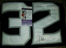 Jonathan Quick (LA.Kings) Signed Jersey Size XL in Person. JSA CERTIFIED