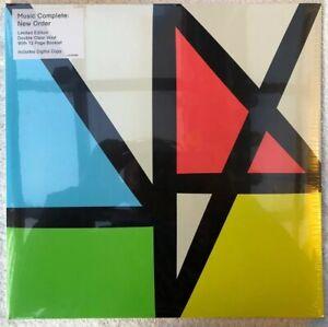 Sealed New Order - Music Complete - Ltd Clear Double LP Album - LSTUMM390 - 2015