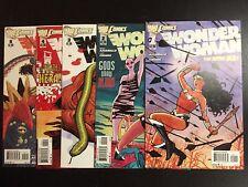 Wonder Woman #1 2 3 4 5 DC New 52 2011 2012 NM lot Azzarello 1st Print