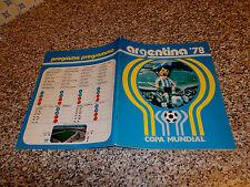 ALBUM ARGENTINA 78 ED.COGED LA GAZZETTA ORIGINALE COMPLETO PERFETTO DA EDICOLA