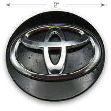 Toyota DB7P 37 190 Black Wheel Rim Center Hubcap Hub Cover Cap OEM K3954 A646
