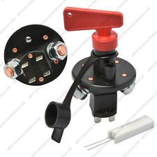 FIA Approved Master Battery Isolator Switch With Resistor - Autograss Rally Car