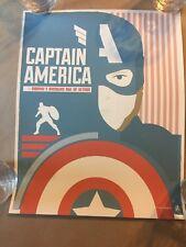 Captain America by Matt Needle Fine Art Giclee Print Limited Ed. of 30 Marvel