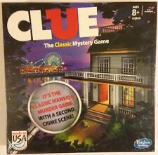 Clue The Classic Mystery Game New, sealed Hasbro Gaming 2013