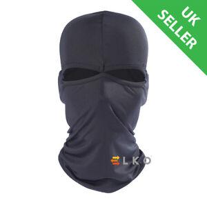 ELKO® Black Balaclava Mask Under Helmet Winter Warm Army Style Neck Warmer