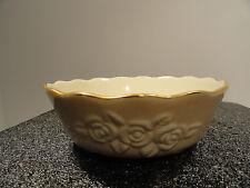 Lenox Rose Blossom Bowl Ivory with Gold Trim