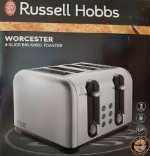 Russell Hobbs Worcester 4 Slice Stainless Steel Toaster 22409