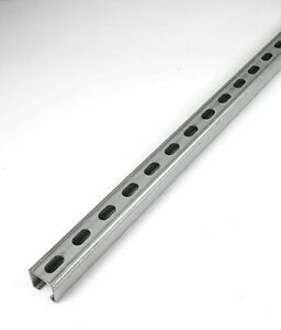 50 Lengths - Slotted Strut Channel Unistrut 41 x 41 3m Lengths