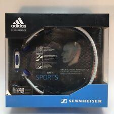 Sennheiser PX 685i Adidas Sports Headband Headphones MiCoach White New Open Box
