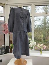 Linen Tunic Patternless Everyday Dresses for Women