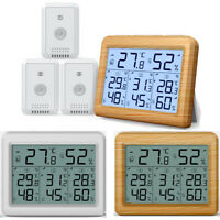 Digital Display Outdoor Thermometer Hygrometer Temperature Humidity With Sensor