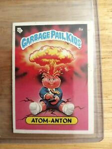 Series 1 German Adam Bomb/Blasted Billy W/ Checklist Garbage Pail Kids
